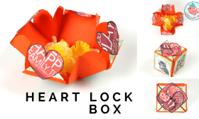 Heart Lock Box Tutorial - Jenny W. Chan Origami Tree