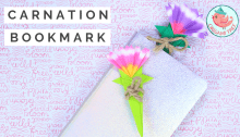 Origami Carnation Bookmark Tutorial, Jenny W. Chan, Origami Tree