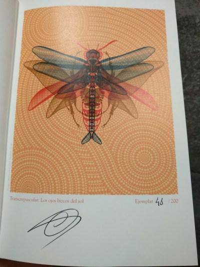 Mi ejemplar número 48 de Transcrepuscular edición Oro