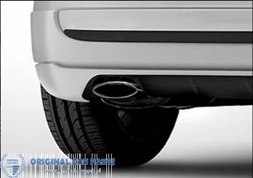 fiat 500 500c exhaust tailpipe chrome
