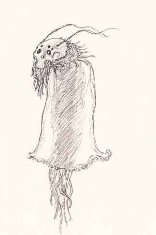 Alien sketch: Jelloovian