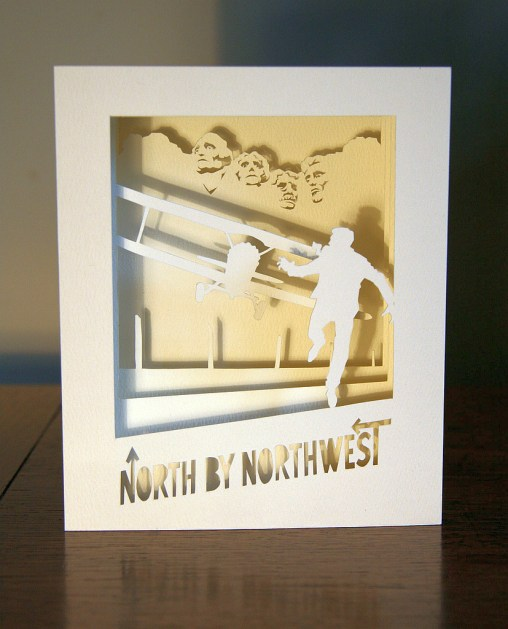North by Northwest tunnel book