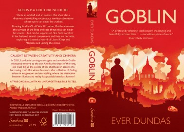 Goblin book cover wrap (Saraband edition)