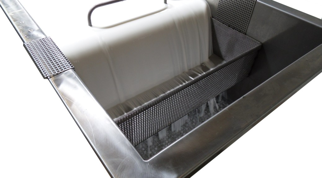 Filtration dans la station de décapage écologique Original GreenSpirit
