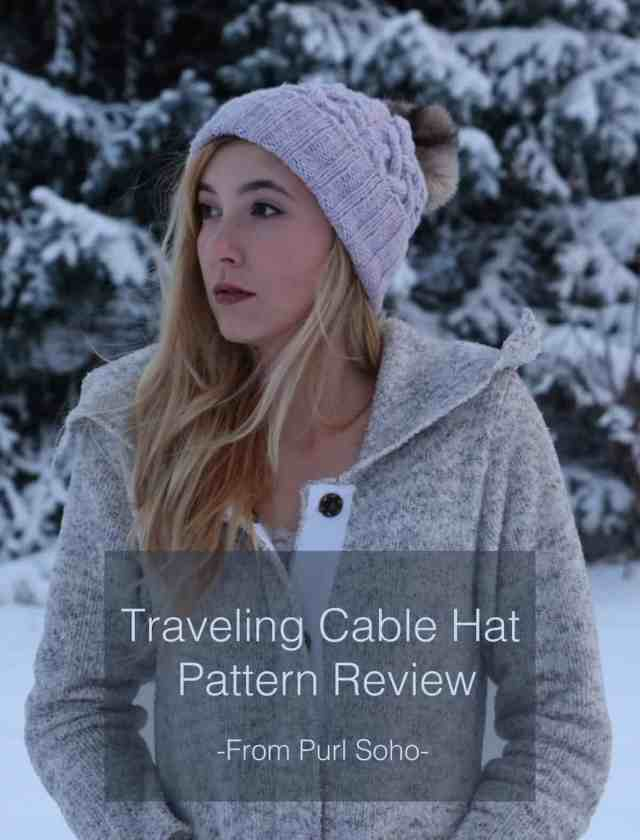 de23c6a2821 Traveling Cable Hat from Purl Soho  www.purlsoho.com