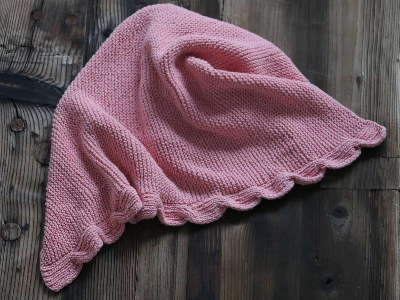 Lola Baby Blanket Knitting Pattern | Originally Lovely