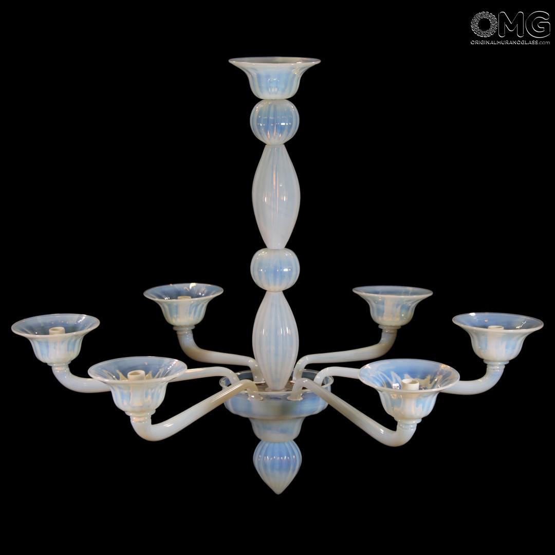 Ferrara factory lampadari e illuminazione. Lampadario Napoli Liberty Murano Glass 6 Luci