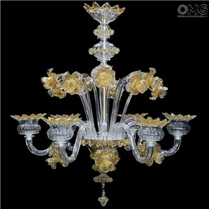 Chandelier Margherita Fl Murano Glass