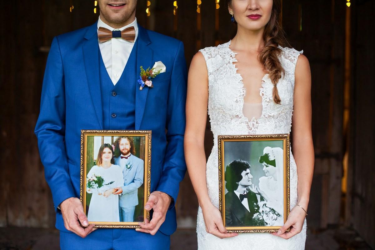 Lesní svatba s vůní dřeva, jednoduchá a jenom jejich