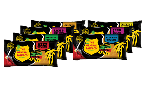 Jamaican Patty packets