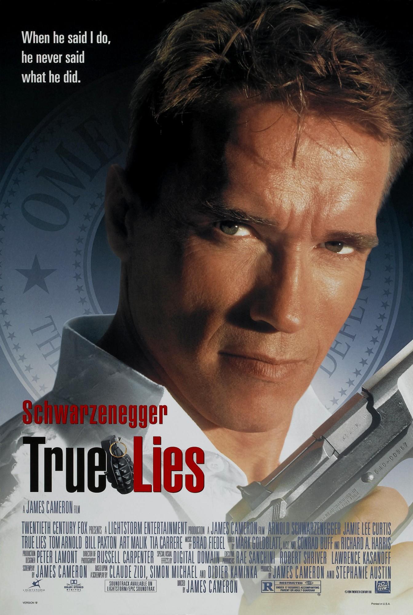 Poster do filme True Lies