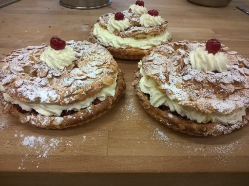 Demonstrating a peculiar predilection for cream and puff pastry