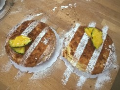 Classic French pineapple cake