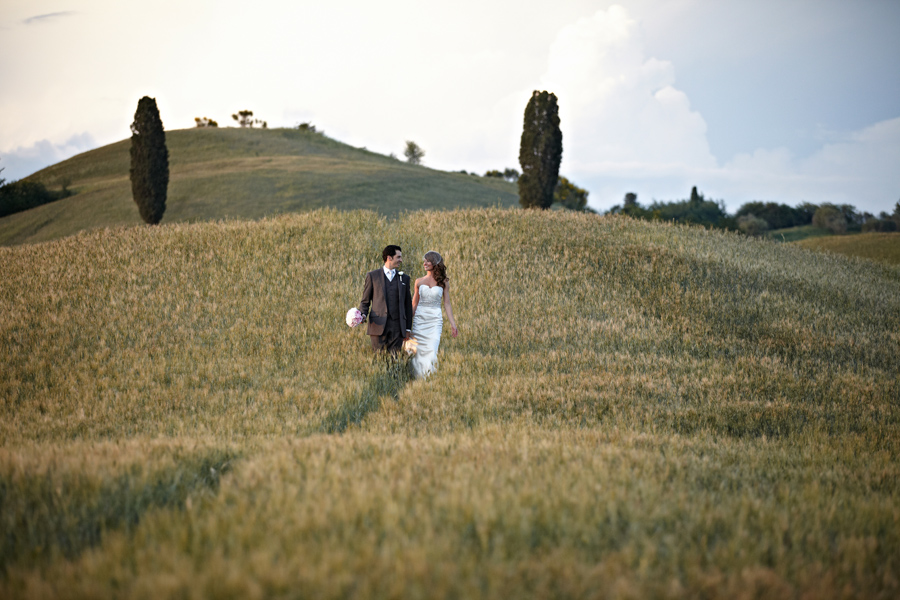 Denise & Kevin wedding in the hills of Tuscany
