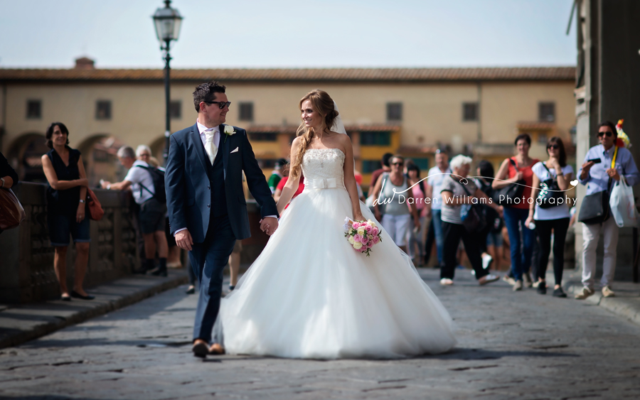 Leanne & Darren wedding in Tuscany