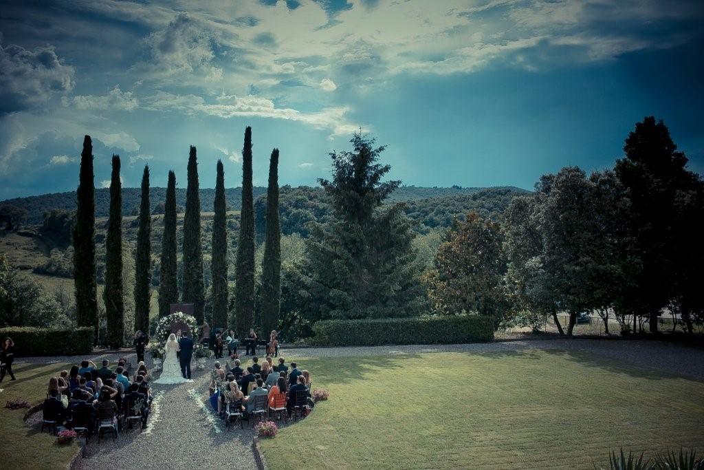 Elya & Kip wedding at Villa La Selva