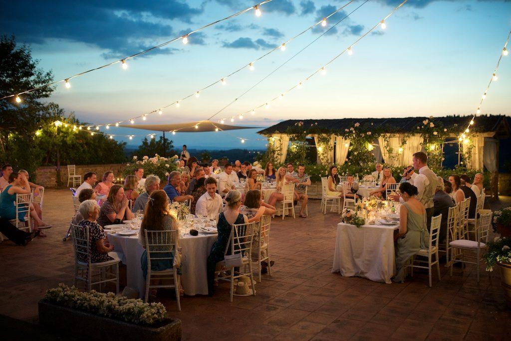 Wedding reception Borgo Petrognano Tuscany