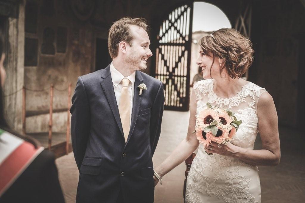 Hilary & Mark wedding in Certaldo