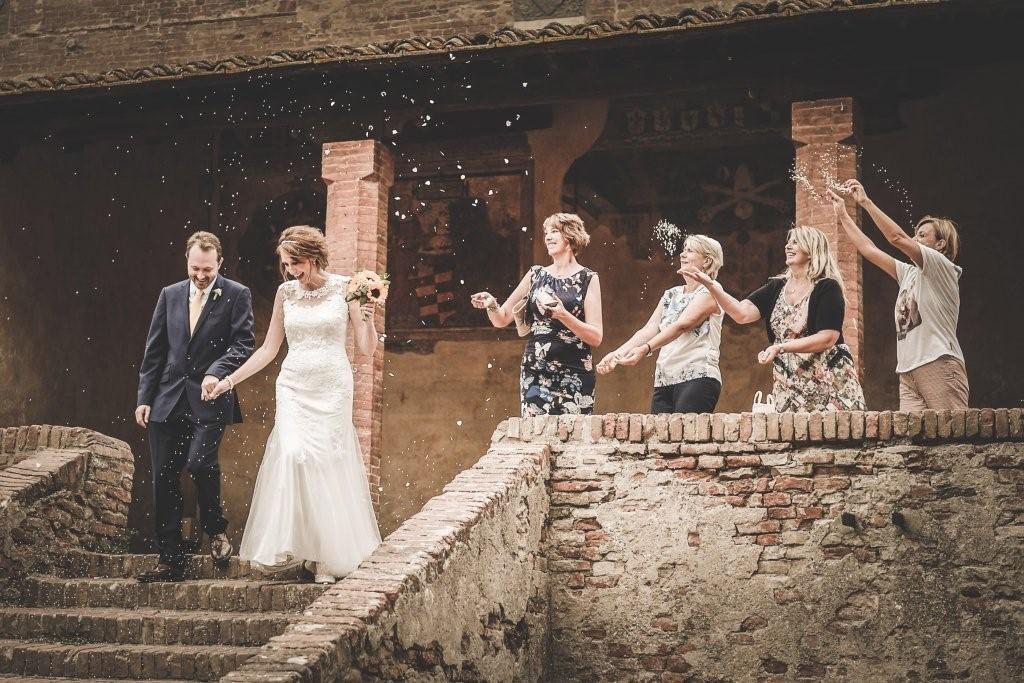 Hilary & Mark private wedding at Vicar's palace
