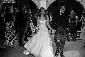 Amy & Steven cerimony in Tuscany