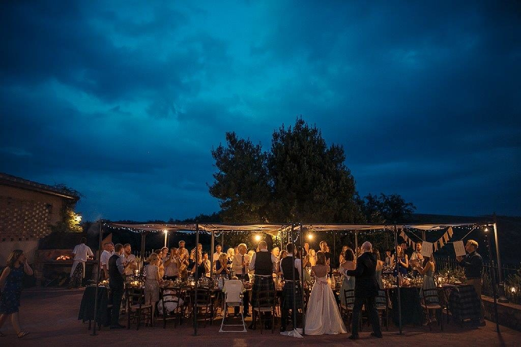 receptions in Tuscany