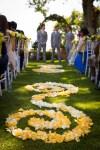 garden wedding Tuscany