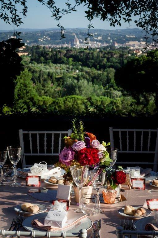 florence reception wedding