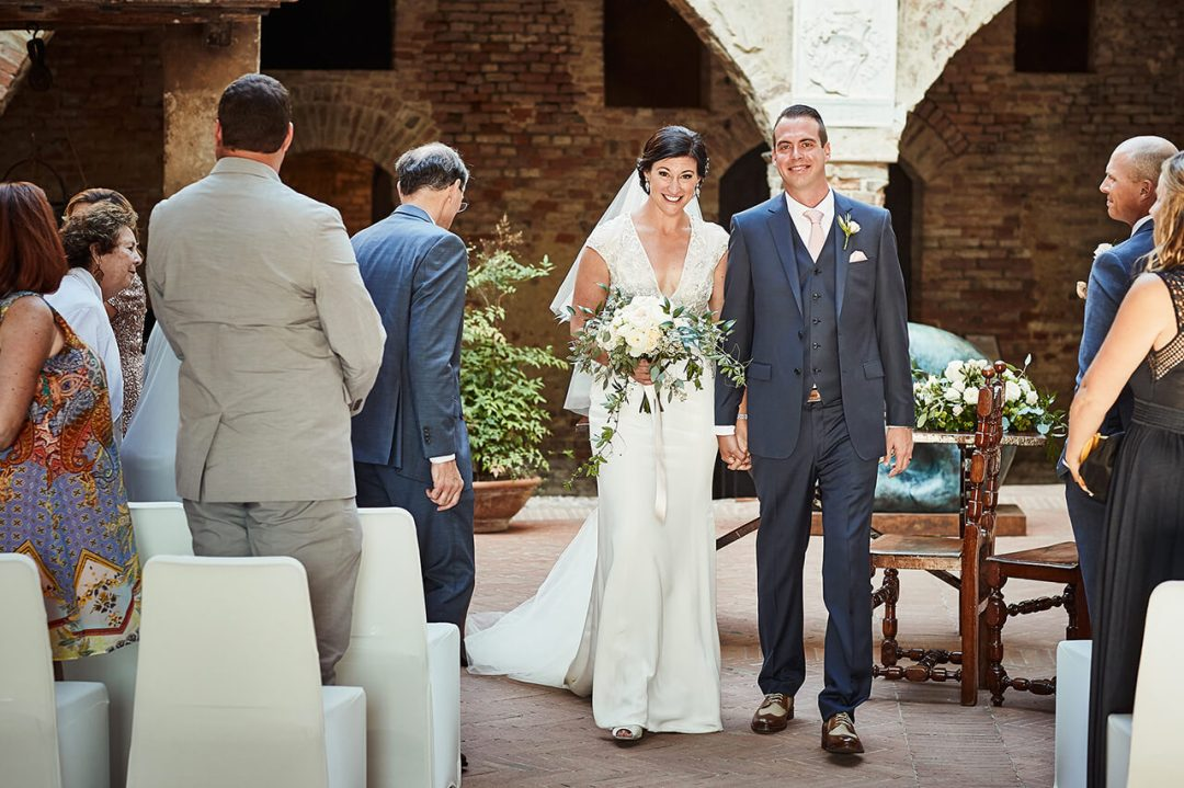Erica & Rob Tuscan wedding