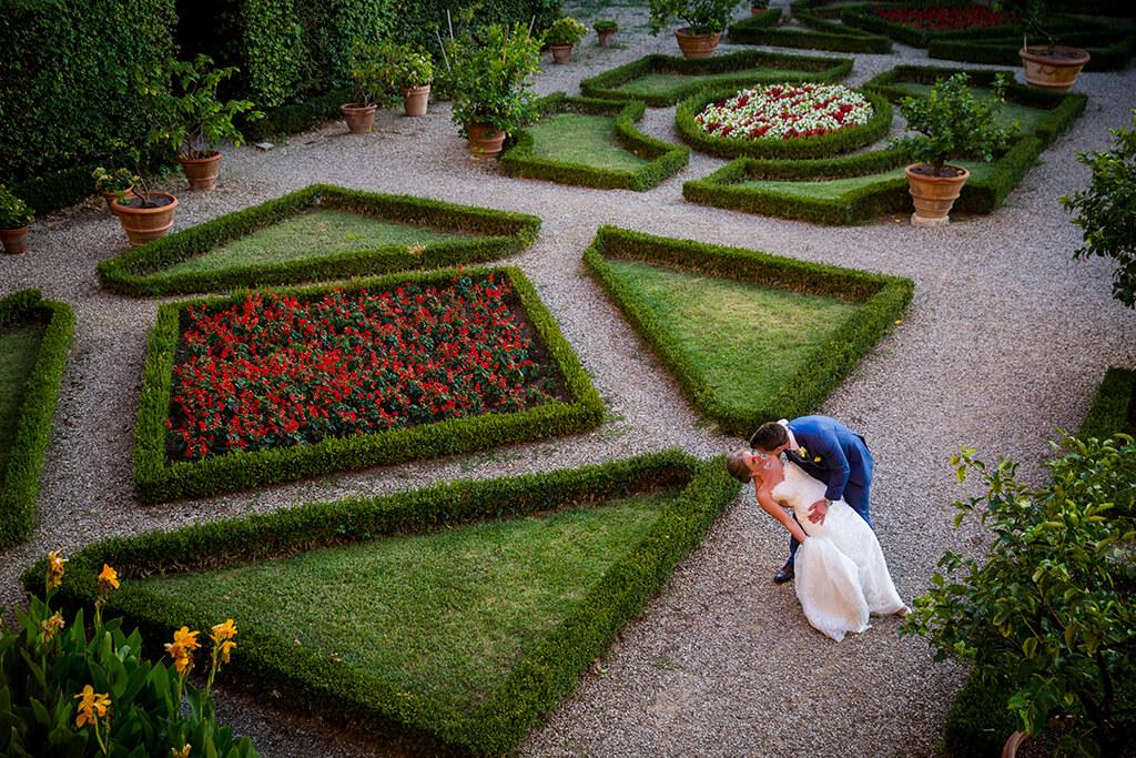 wedding italian garden