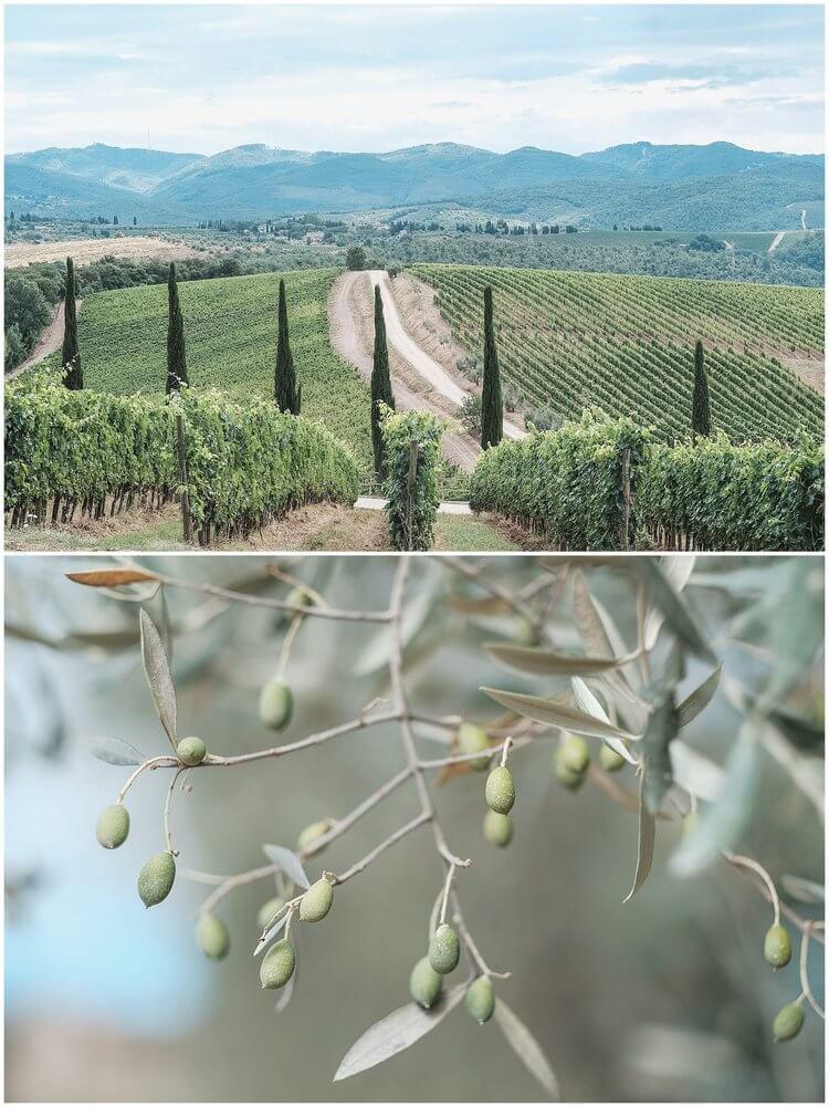 a tuscany destination wedding