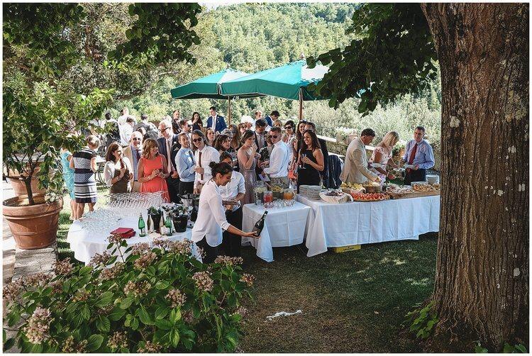 wedding cocktail villa dievole
