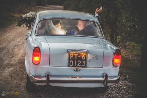 italian car wedding tuscany