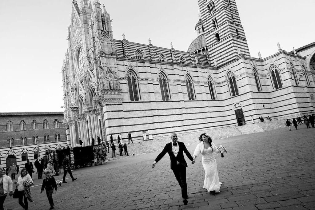Christmas wedding in Tuscany