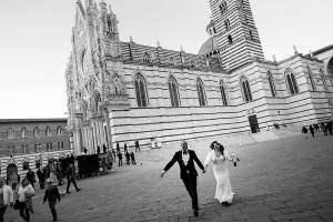 Christmas wedding in Tuscany