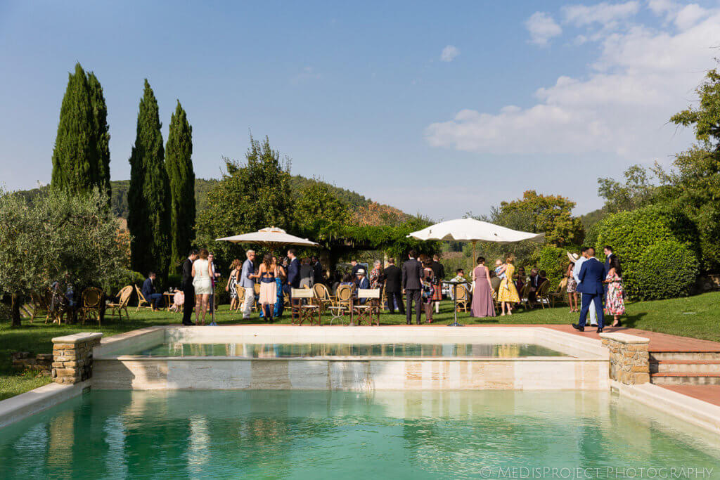aperitif garden party wedding