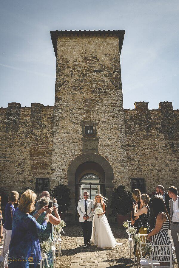 Emma & Edward wedding in a castle