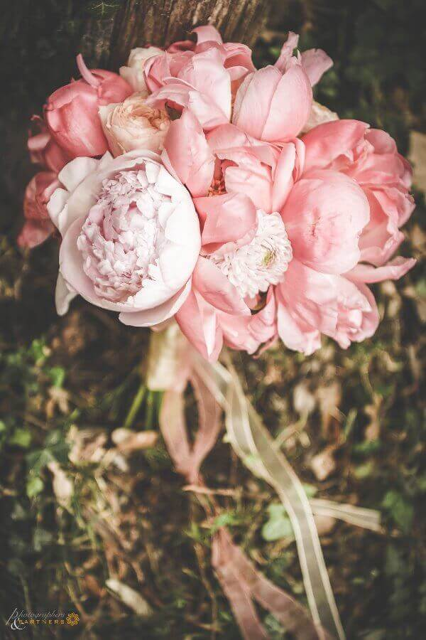 The beautiful bridal bouquet