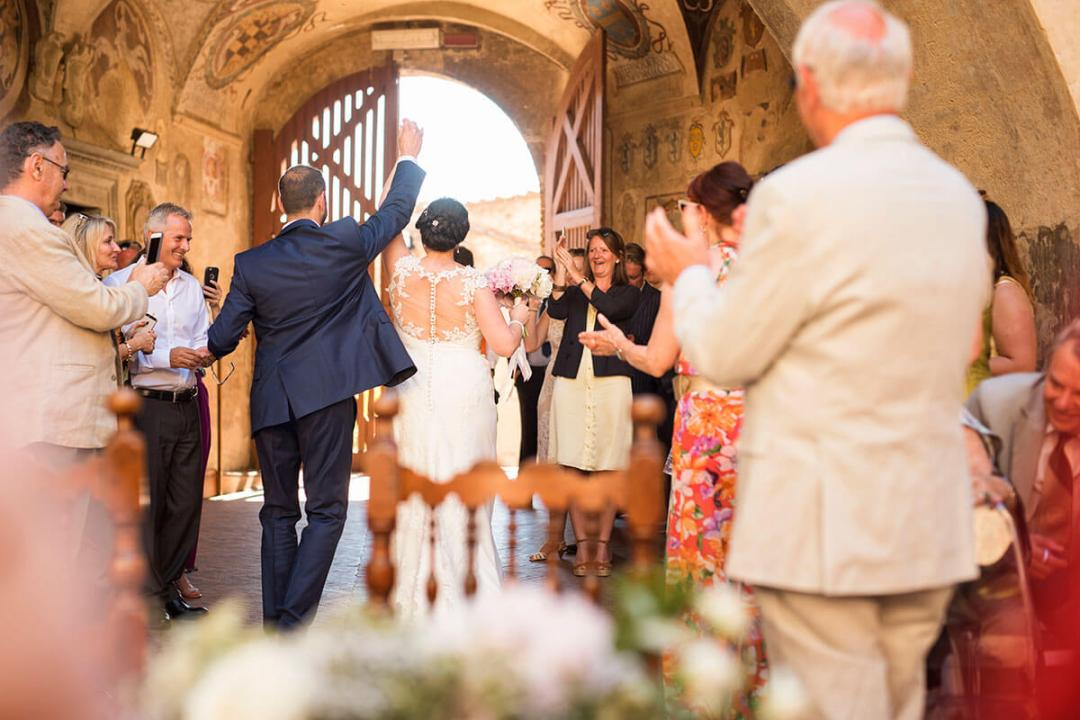 Anya & James are now husband and wife