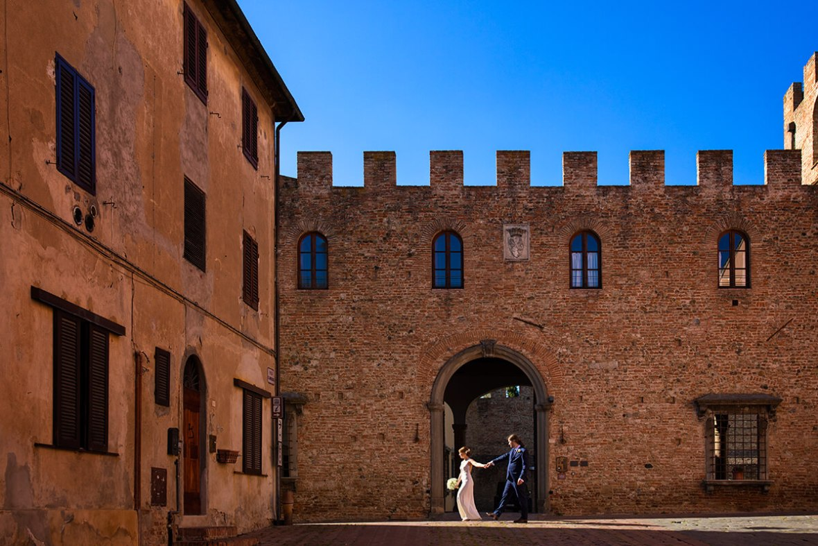 private wedding in Tuscany