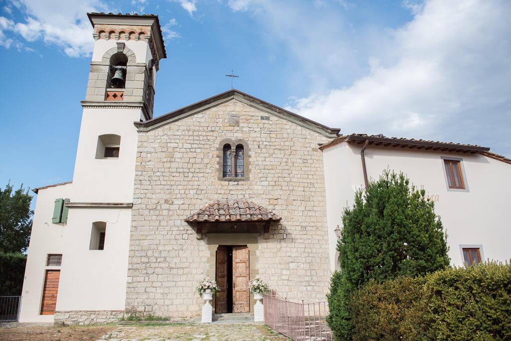 church wedding in Tuscany