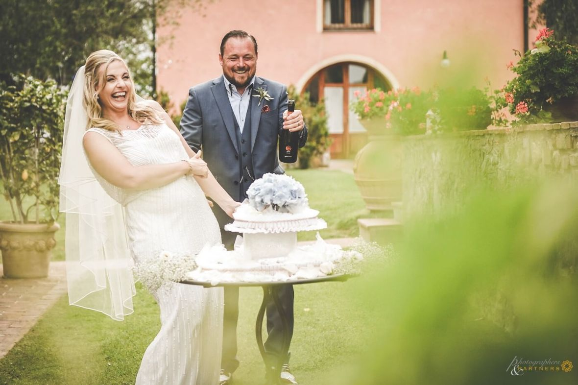 wedding celebrations in Tuscany