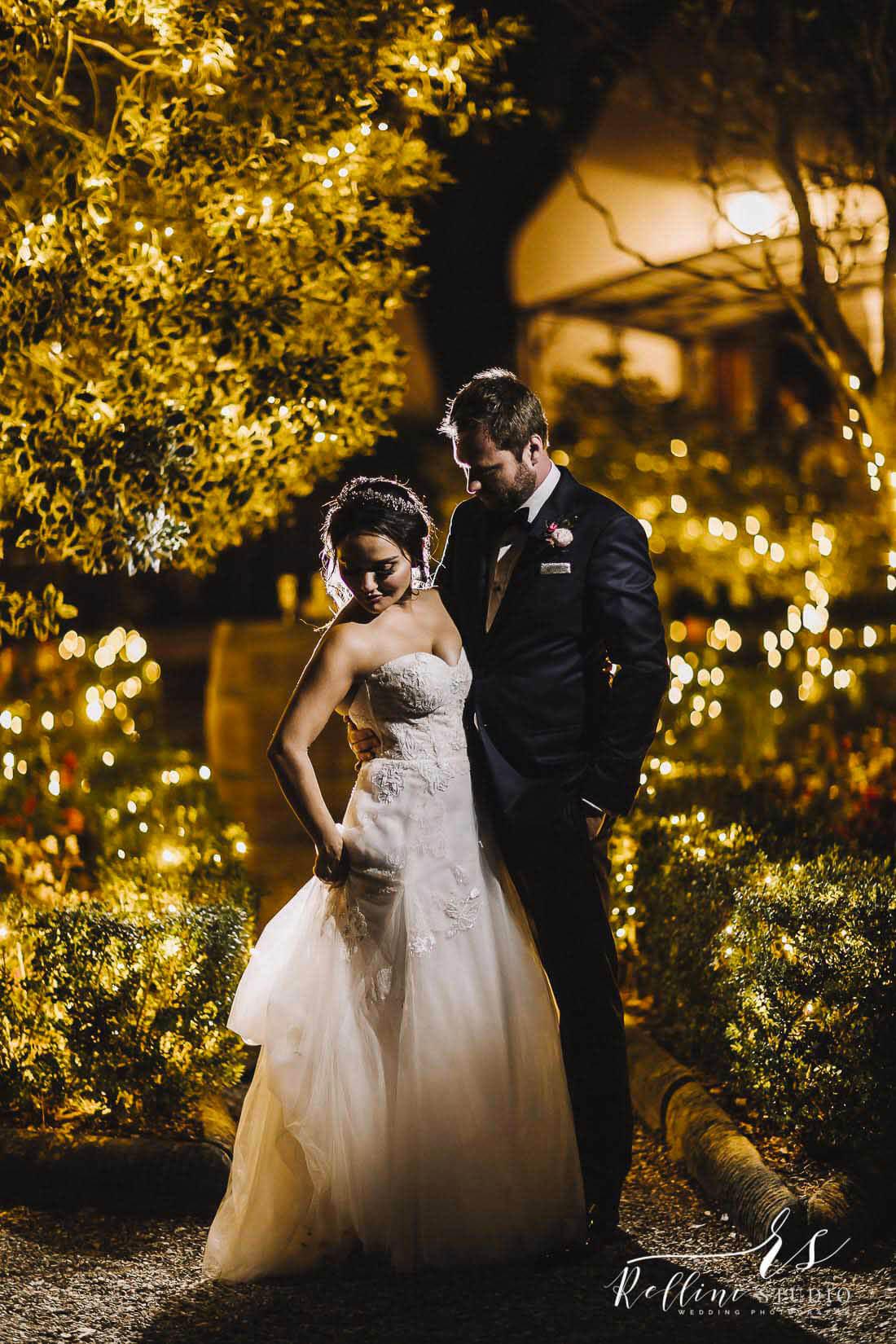 wedding reception in Italy