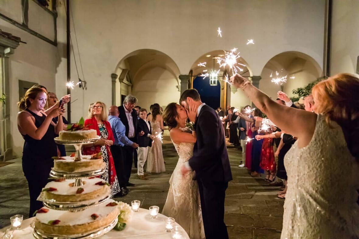 tuscan wedding reception