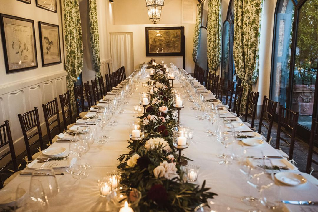 Winery wedding location