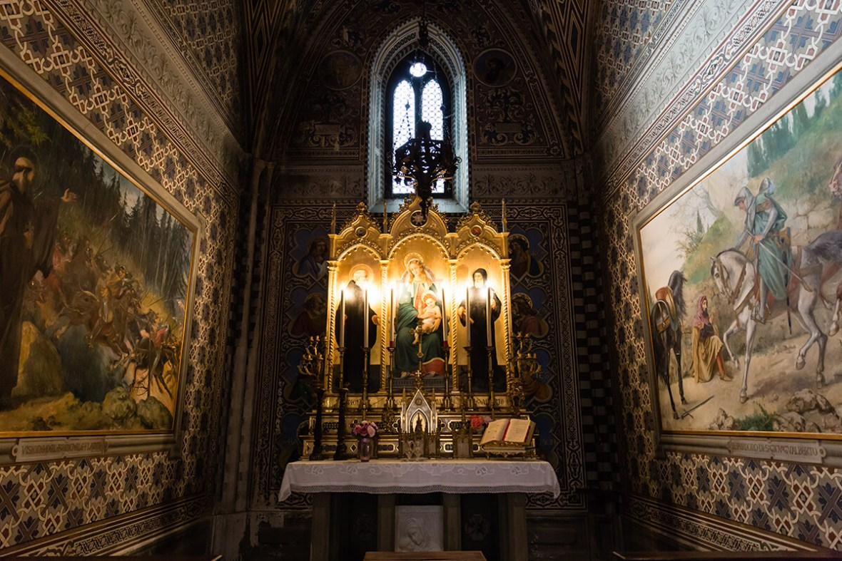 Ceremony at Castello il Palgio