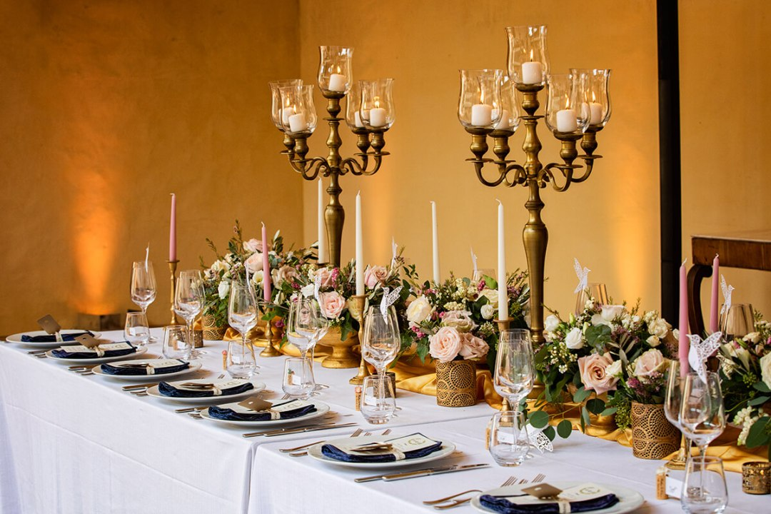 castle wedding decoration ideas