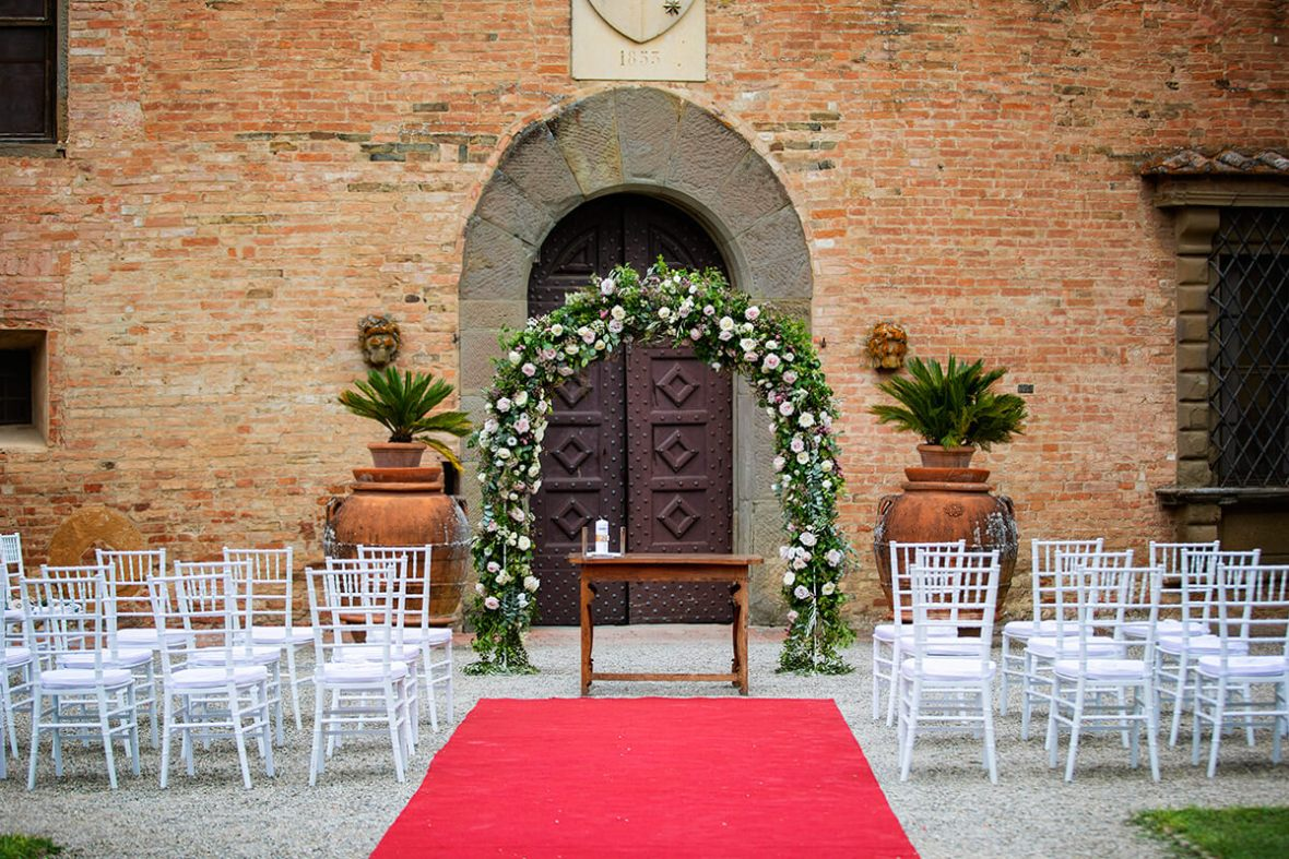 castle wedding venues in Florence