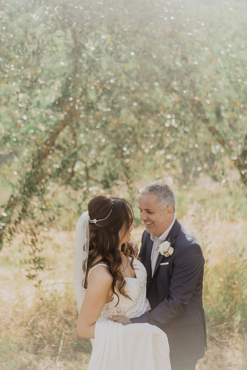Wedding in a Tuscan town