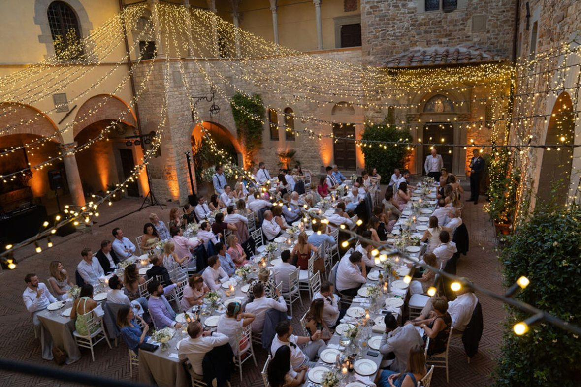 Tuscany castles for wedding