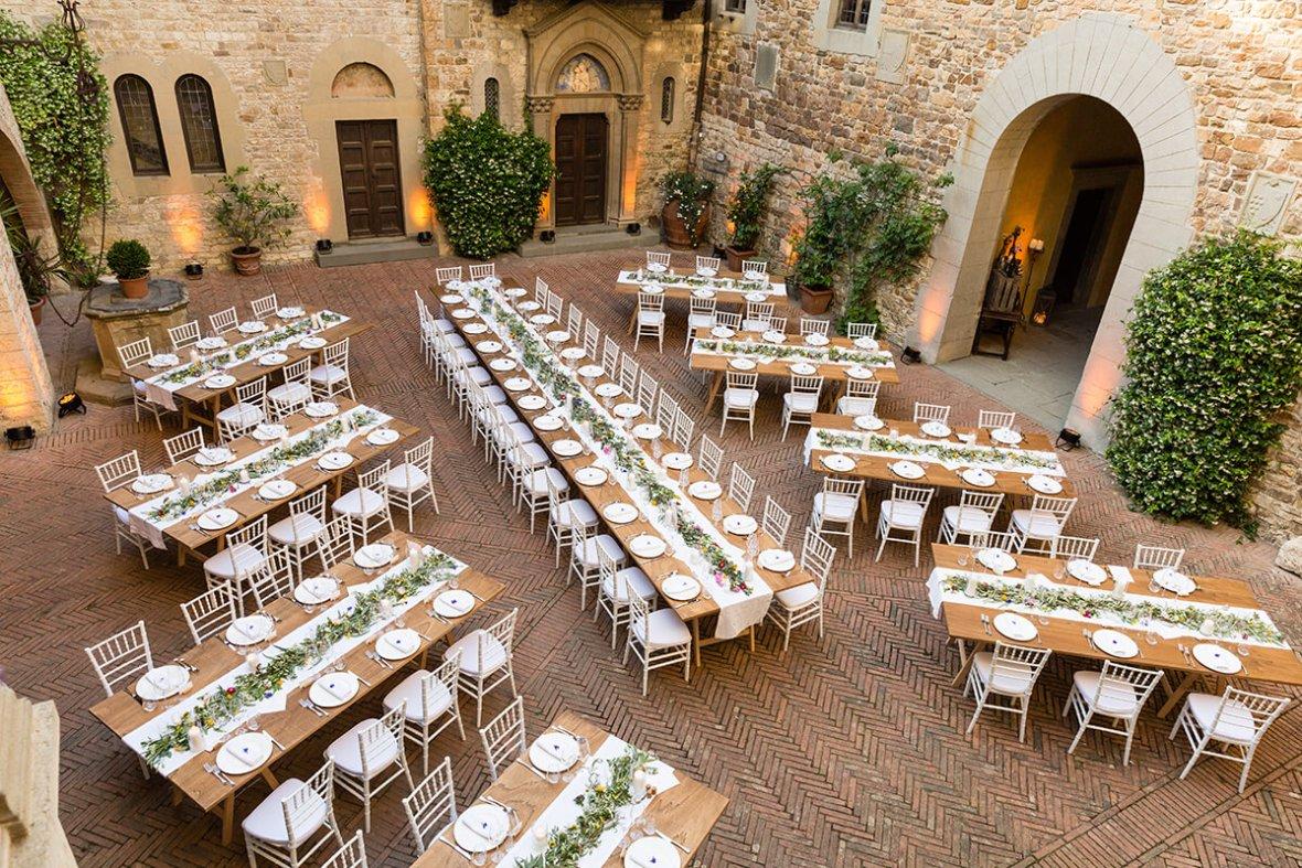 castle wedding venues in Italy